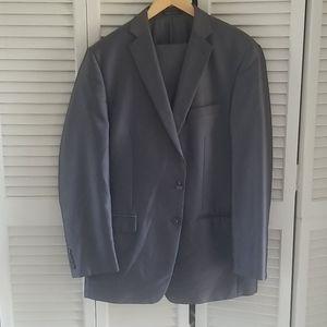Dark grey Calvin Klein Suit